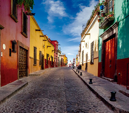 San Miguel De Allende Is Located In The State Of Guanajuato And One Most Beautiful Colonial Architectural Jewels Mexico